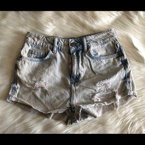 Topshop Moto Hallie Shorts